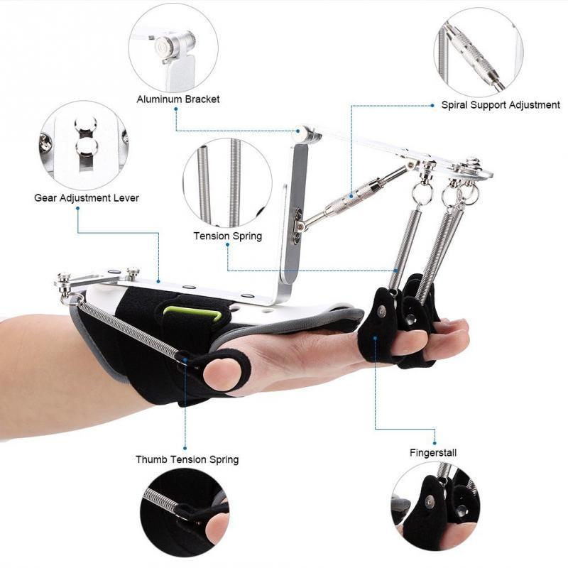 Adjustable Finger Wrist Orthotics Rehabilitation Trainer Wrist Brace Ober Health 2