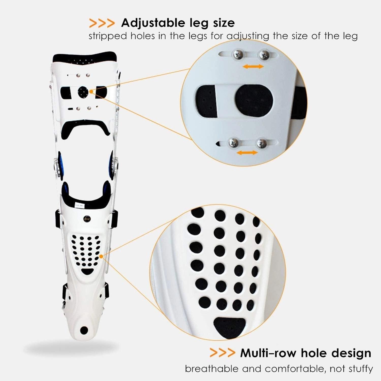 Medical Adjustable Knee Joint Fixed Brace Leg Orthotics Support Hinged Knee Braces Ober Health 3