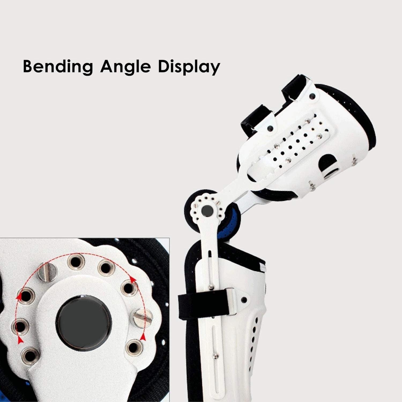 Medical Adjustable Knee Joint Fixed Brace Leg Orthotics Support Hinged Knee Braces Ober Health 6