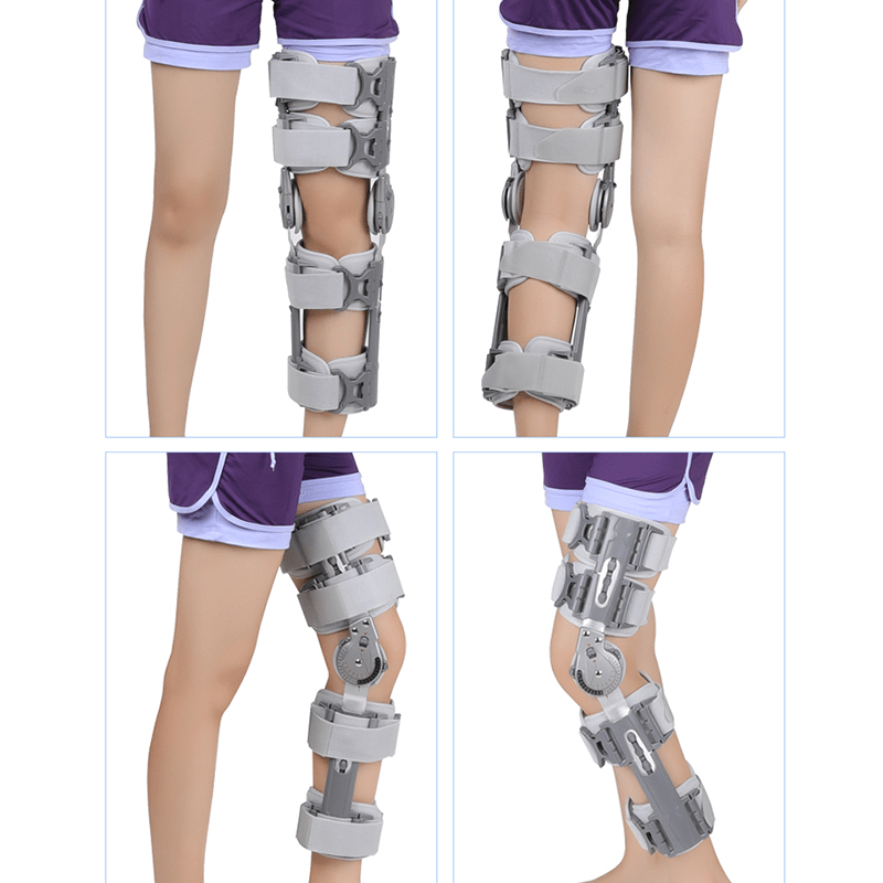 Hinged Knee Brace with Strap, for ACL/Ligament/Sports Injuries, Mild Osteoarthritis(OA) Hinged Knee Braces Ober Health 2