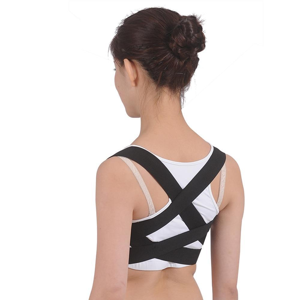 OBER Shoulder Back Belt Support Waist Brace Adjustable Posture Corrector Pain Relief Orthopedic Lumbar Men/women OPER Aofeite shoulder brace Ober Braces