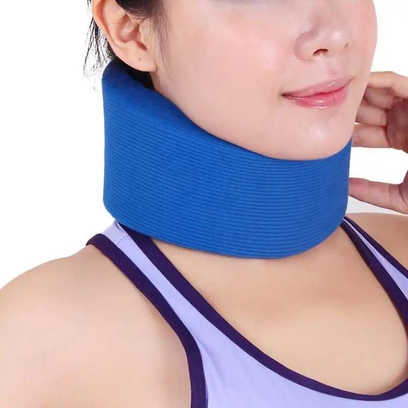 Soft Foam Cervical Collar - Vertebrae Whiplash Wrap Aligns and Stabilizes Spine -Relieves Pain, Pressure-OBER neck brace Ober Braces