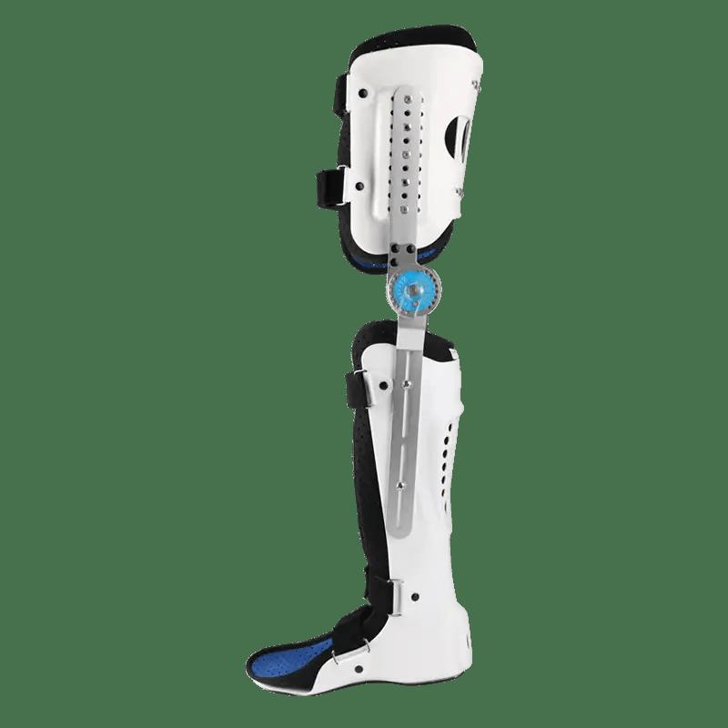 Medical Adjustable Knee Joint Fixed Brace Leg Orthotics Support