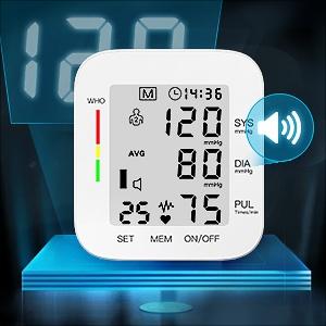 Blood Pressure Monitor LCD Display Adjustable Wrist Cuff Blood Pressure Monitors Ober Health 22