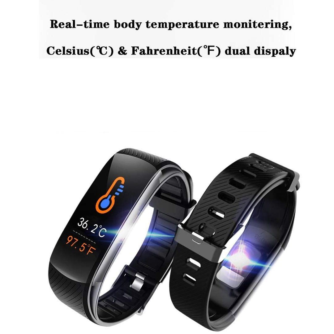 Fitness Tracker with Body Temperature Blood Pressure Oxygen Heart Rate Sleep Monitor Heart Monitors Ober Health 3