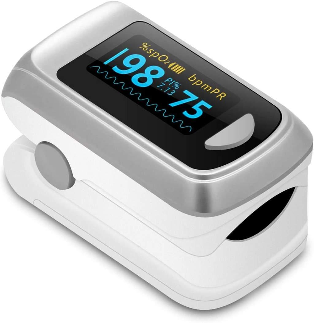Fingertip Pulse Oximeter & Blood Oxygen Saturation Monitor Pulse Oximeters Ober Health 12