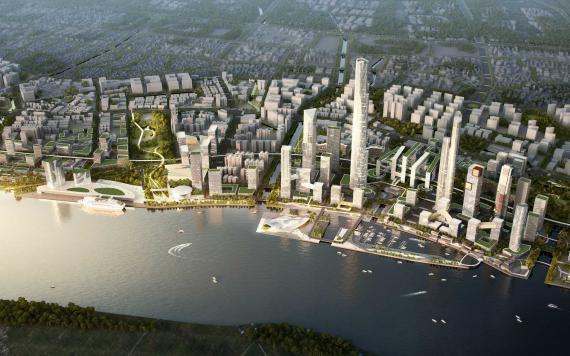 Guangzhou 2nd CBD Huangpu District Urban Design