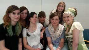 Gruppenbild mit Damen