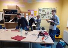 Oberschule Briesen_Adventsbasteln unserer 8 Klassen_2019_12