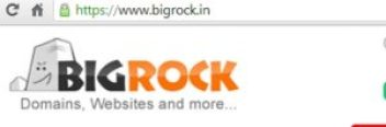 buy domain with bigrock