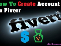 how to create account fiverr make money online