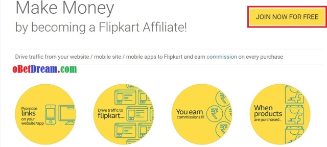 how to join free flipcart affiliate programe