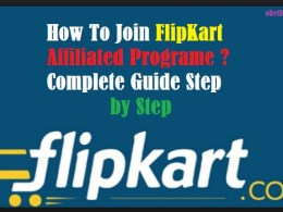 join flipkart affiliate programe make money online free hindi