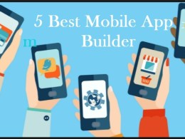 top 5 best mobile app builder or mobile software maker