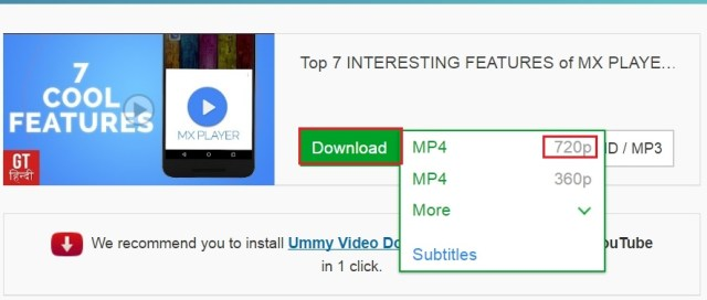downoad youtube video downloader