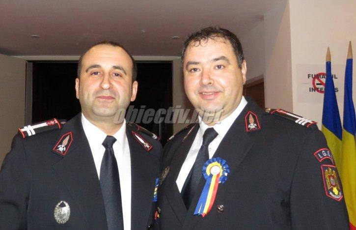 Laurențiu Bâcu și Florian Lică