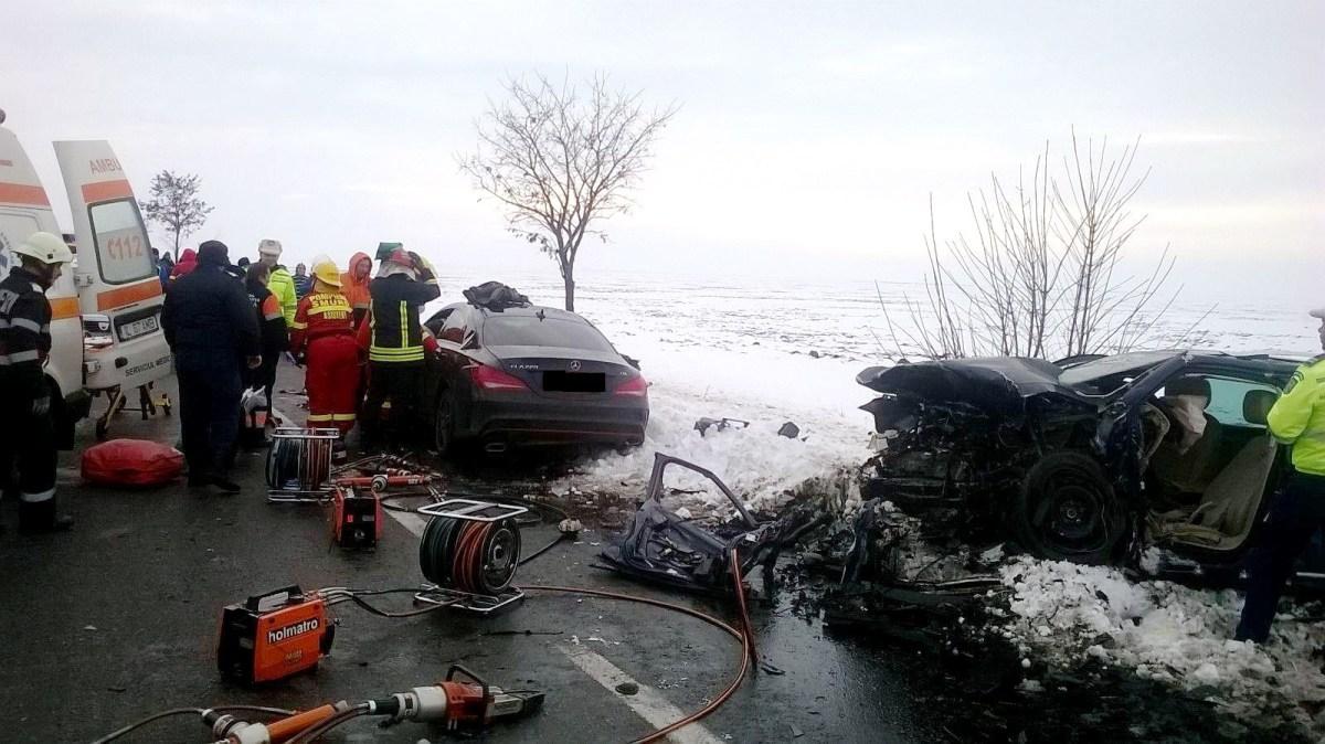 Accident mortal în apropiere de Urziceni