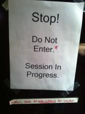 Stop! Do Not Enter! Unless you're an UNBELIEVABLY hot stripper!