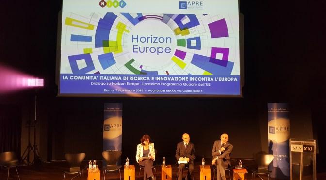 Horizon Europe, l'evento MIUR – APRE al MAXXI