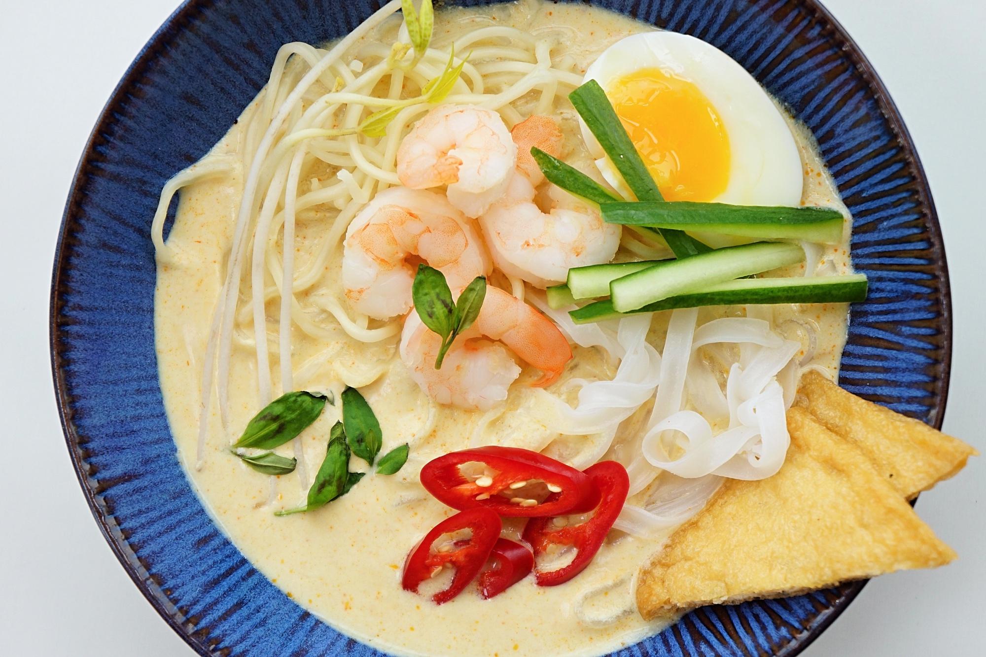 Malezyjska zupa laksa jak zrobic