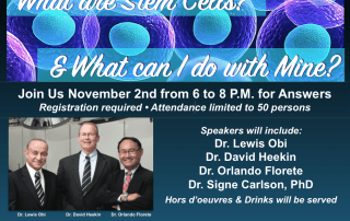Stem Cell Symposium for Patients