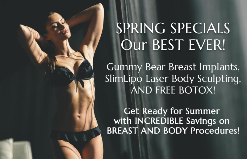 Spring Plastic Surgery Specials in Jacksonville at Obi Plastic Surgery!