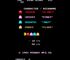 "Midway's Pac Man literally ""starred"" a whole roster of quirky ghosts, who engaged in funny interstitials in between stages, a seismic innovation that was the starting point for ""narrative"" gaming."