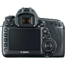 Canon EOS D mark IV back