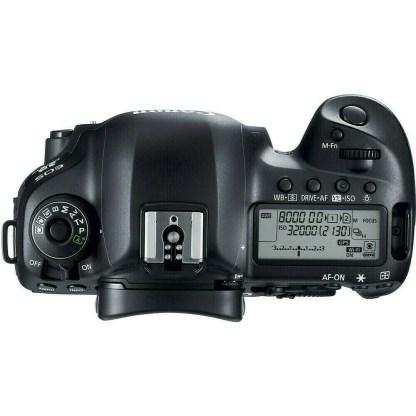 Canon EOS D mark IV top