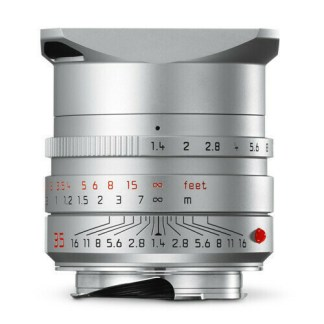 Leica M Summilux 35mm silver para face