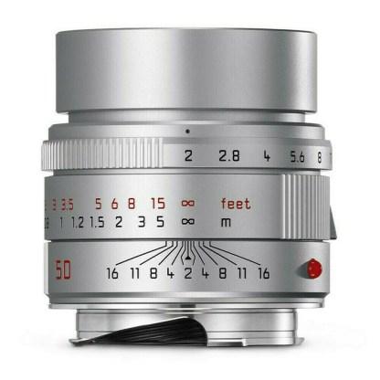 Leica M apo Summicron  silver