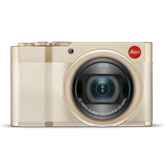 Leica C Lux light gold front
