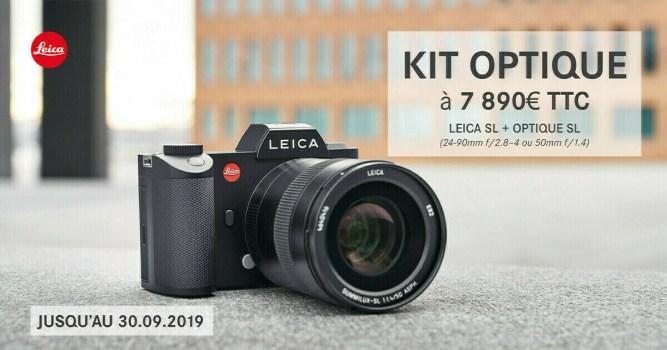 Offre Leica SL + un objectif