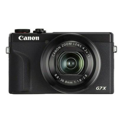 Canon PowerShot G7X mark III Noir - face