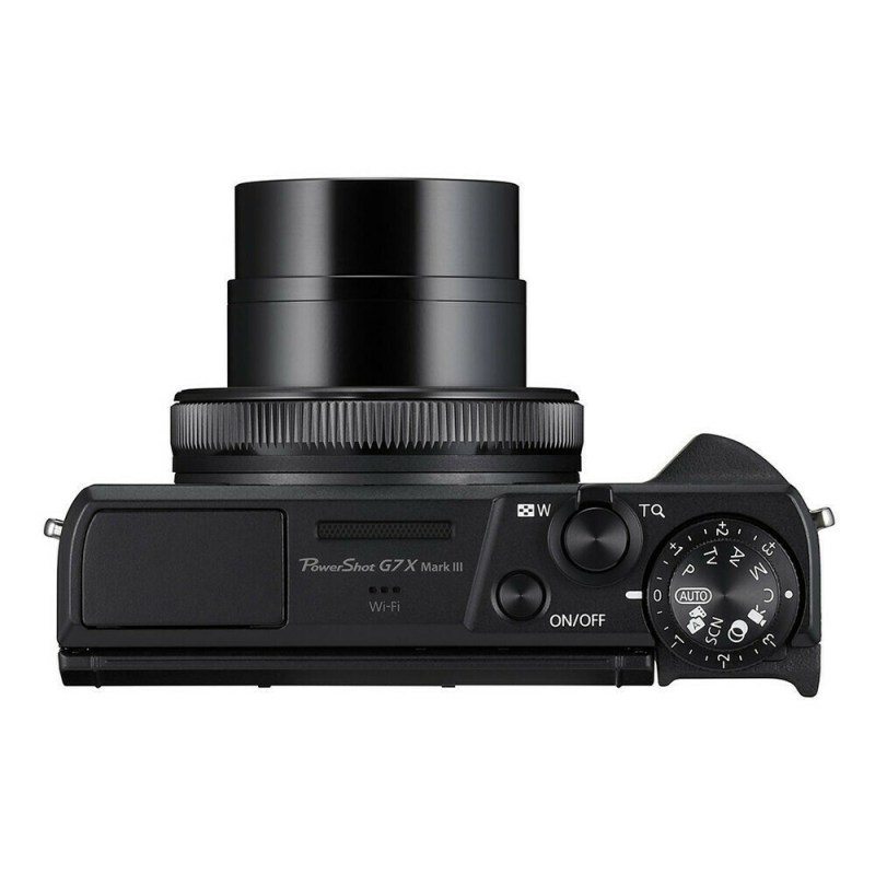 Canon PowerShot G7X mark III Noir - dessus