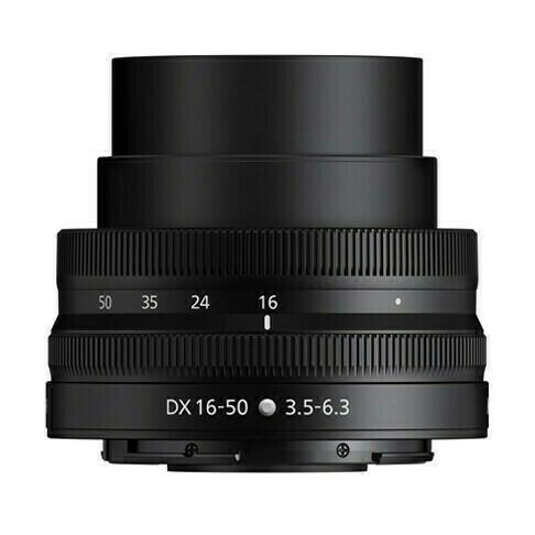 Pancake Nikon Z DX 16-50mm - ouvert