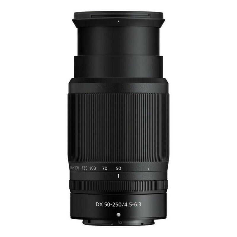 Nikon Z DX 50-250mm - ouvert