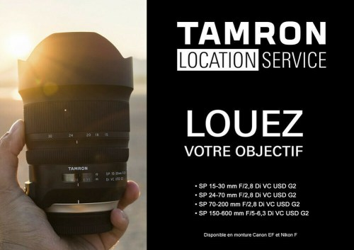 Location Objectif Tamron