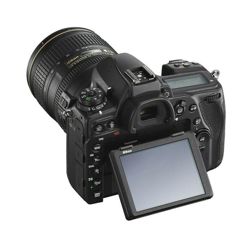 Nikon D780 + 24-120 mm - écran