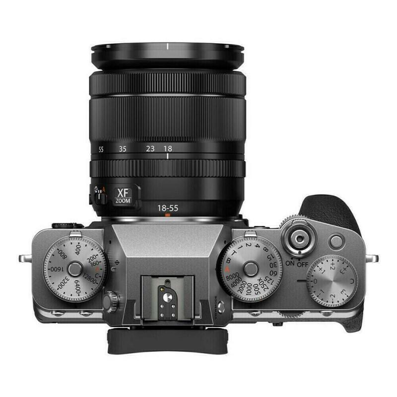 Fujifilm X-T4 + XF 18-55 - Argent - dessus