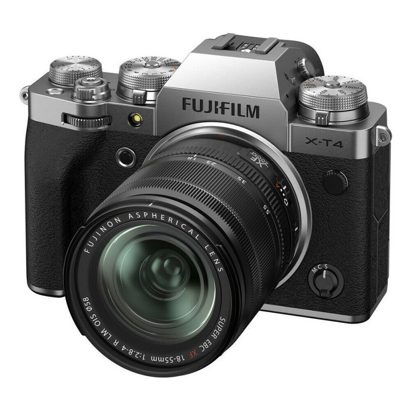 Fujifilm X-T4 + XF 18-55 - Argent -face 2
