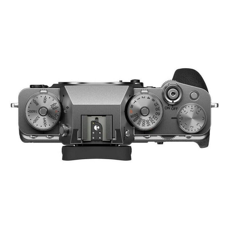 Fujifilm X-T4 - Argent - dessus