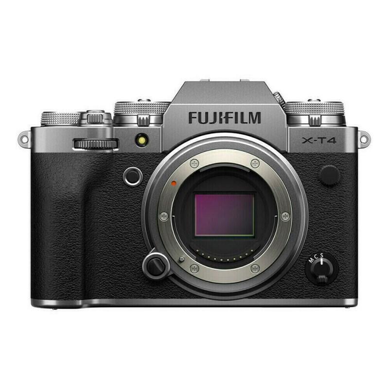 Fujifilm X-T4 nu - Argent - face