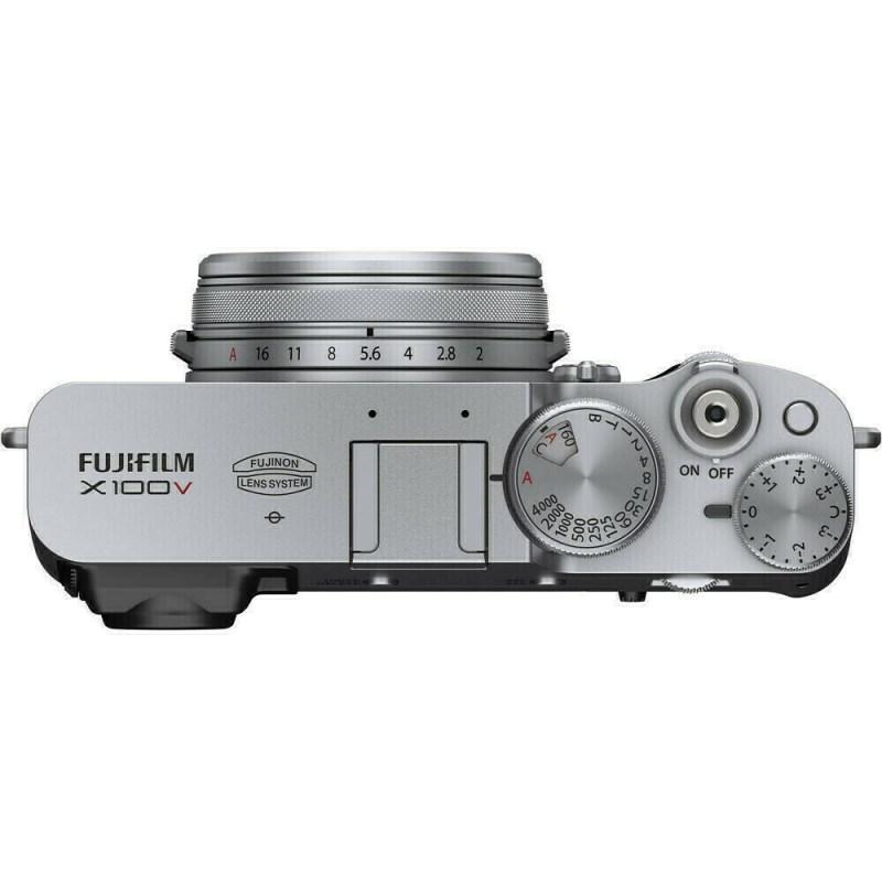 Fujifilm X100V - Argent - dessus