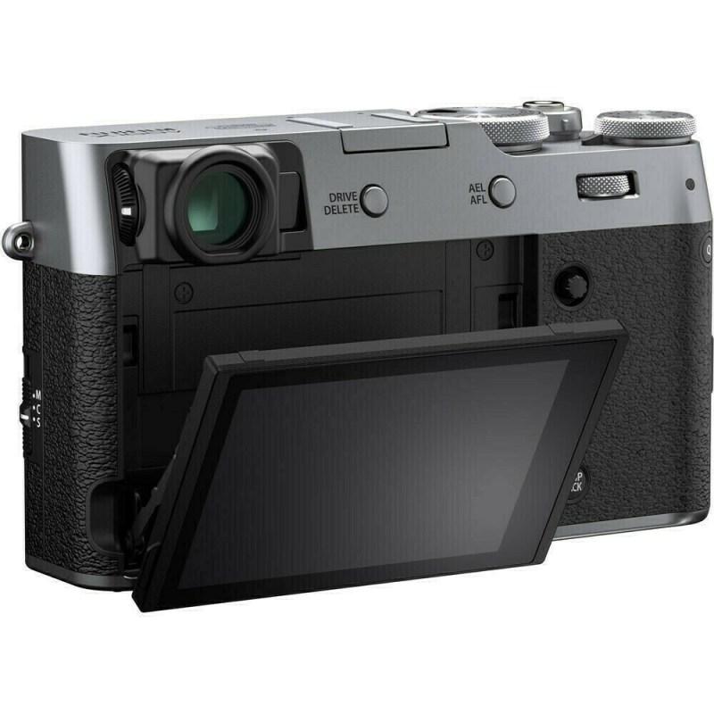 Fujifilm X100V - Argent - dos ecran
