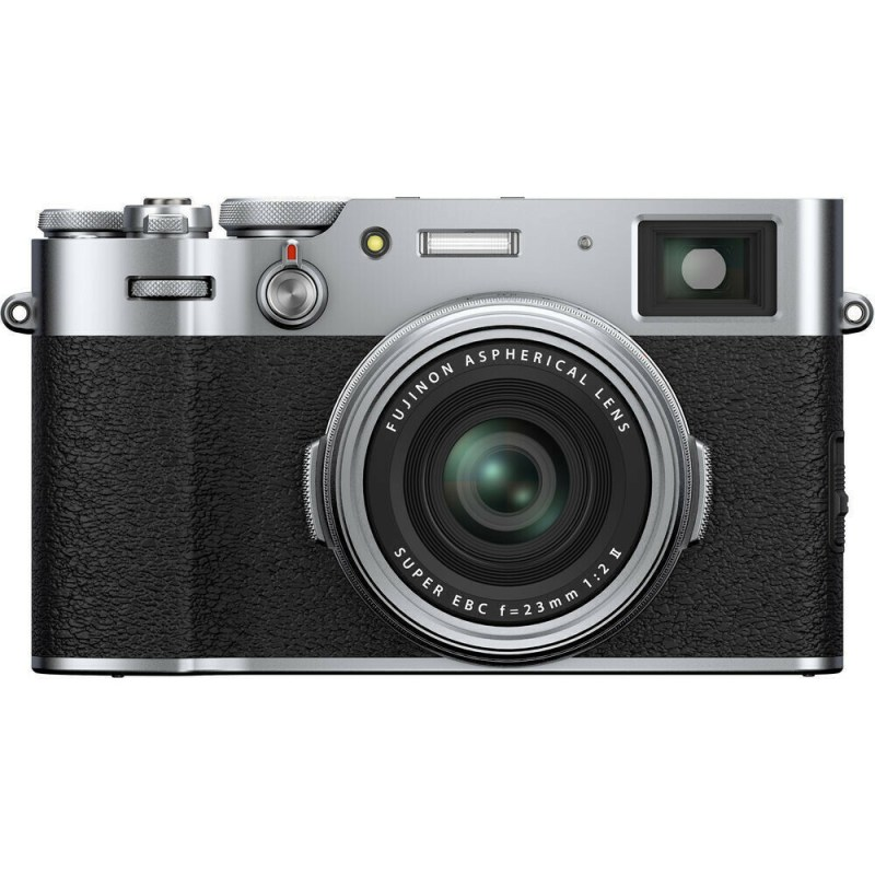 Fujifilm X100V - Argent - face