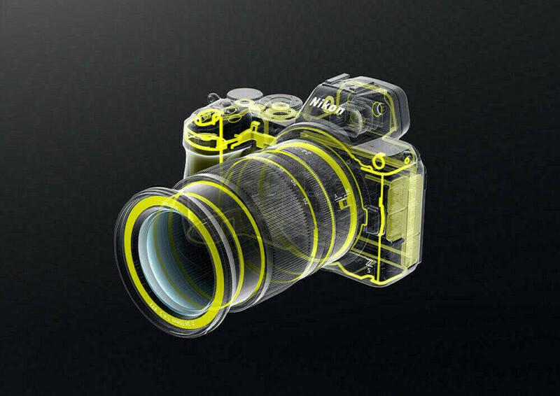 Nikon Z5 joints d'étanchéité