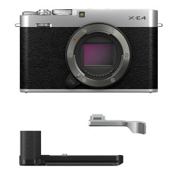 Fujifilm X-E4 Silver MHG-XE4 TR-XE4