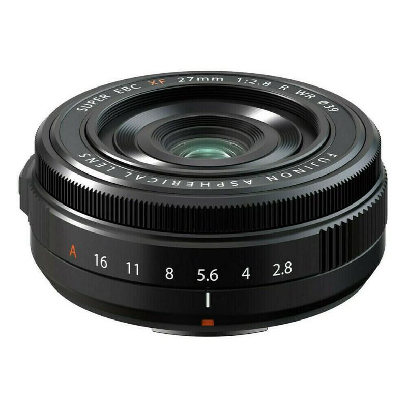 Fujifilm XF 27 mm f/2.8 R WR - Noir 1