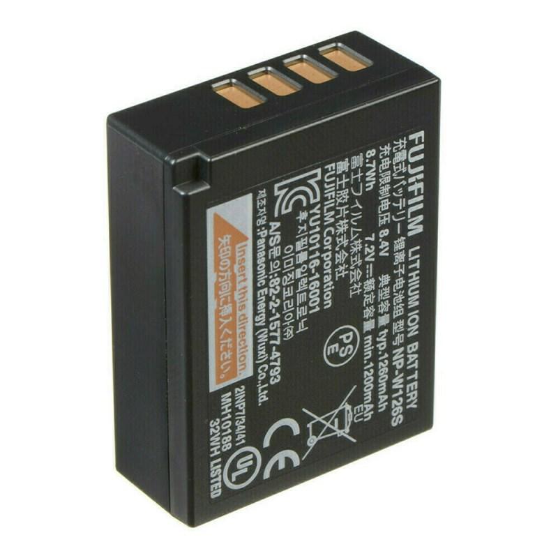 Fujifilm NP-W126S Batterie